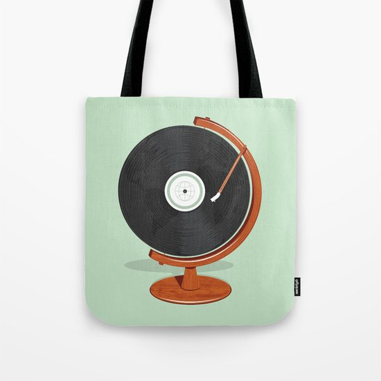 World Record Tote Bag