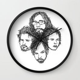 Kings of Leon Wall Clock