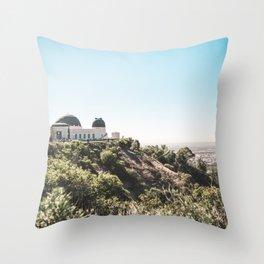 Observatory Views Throw Pillow