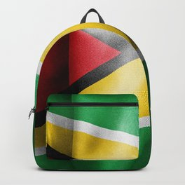 Guyana Flag Backpack