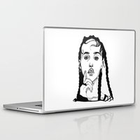 cactei Laptop & iPad Skins featuring FKA Twigs by ☿ cactei ☿
