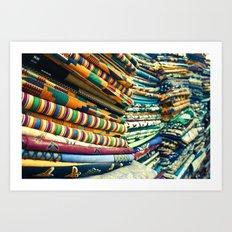 Kente Store Art Print