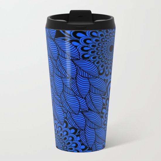Pattern C 3 Metal Travel Mug