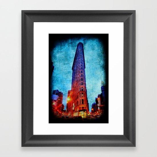 Flatiron NYC Framed Art Print