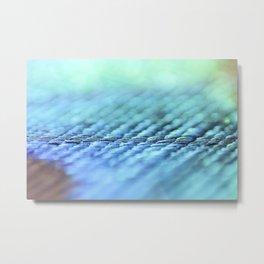 Blue magic Metal Print
