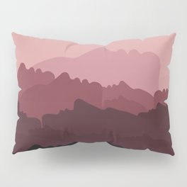 Love Mountain Range Pillow Sham