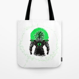 New Broly Dragon Ball Super film Tote Bag