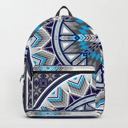 Sacred Places Blue Backpack