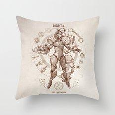 Project M - Da Vinci Edition Throw Pillow