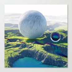 Furry Composition Canvas Print
