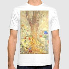 "Odilon Redon ""Buddha in His Youth"" T-shirt"