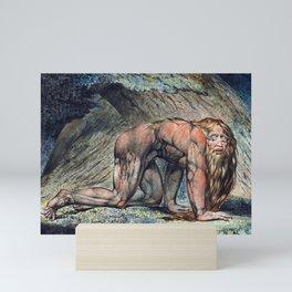 William Blake Nebuchadnezzar Mini Art Print