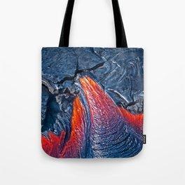 Kilauea Volcano Lava Flow. 3 Tote Bag