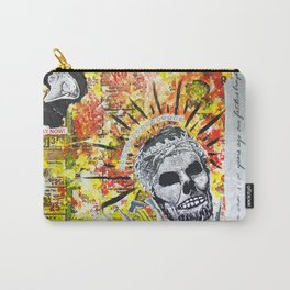 Truth the Fallen King Mixed-Media Collage Carry-All Pouch
