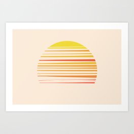 all summer long Art Print