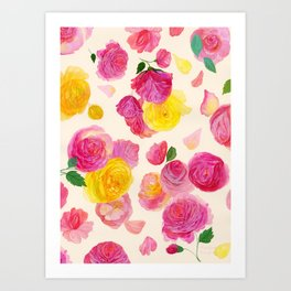 Royal Garden Art Print
