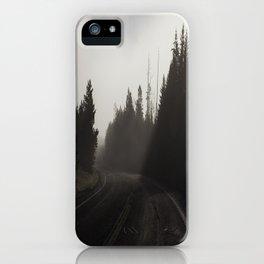 Empty Road iPhone Case