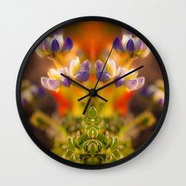 Calfornia Blooming Wall Clock