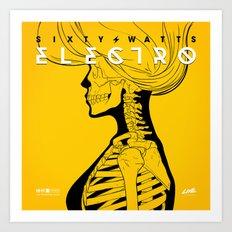 Electro - Original Version Art Print