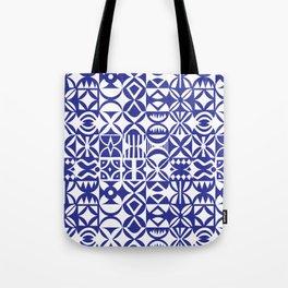 Geometric hydraulic tiles Tote Bag