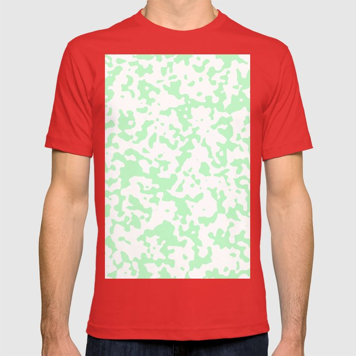 Spots - White and Mint Green T-shirt