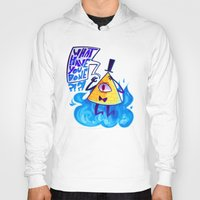 bill cipher Hoodies featuring cipher. by Zombie Rufio