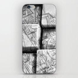 Cog Box iPhone Skin