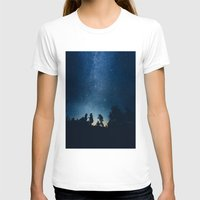 astronomy T-shirts featuring Follow the stars by HappyMelvin