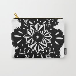 Black Lace Star 2 Carry-All Pouch