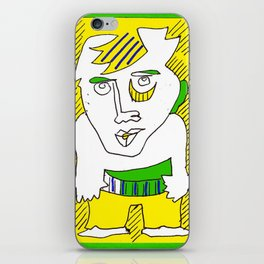 avant garde illustrations 3 iPhone Skin