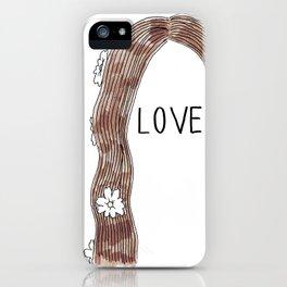 LOVE del Rey iPhone Case