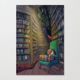Nene's Library Canvas Print
