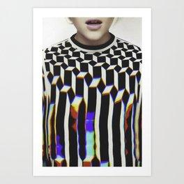 Glamour #1 Art Print