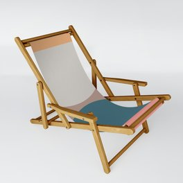 Abstract Geometric 23 Sling Chair