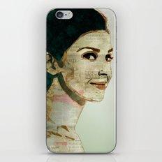 Concrete Butterflies iPhone & iPod Skin