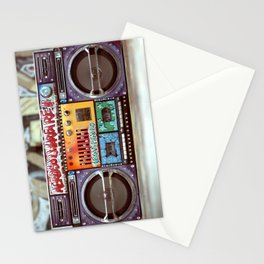 Texas Pimps Boombox Stationery Cards