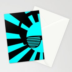 Rising DJ Red Stationery Cards