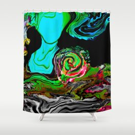 Women Empower Soul Art /ABSTRACT ART Shower Curtain