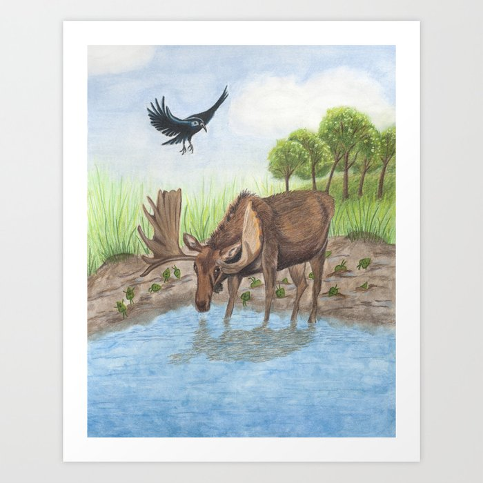 Stuck in the Muck Art Print