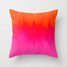 Bursting with Color Throw Pillow