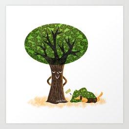 Tree Revenge Art Print