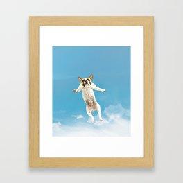 Flying Dogs Framed Art Print