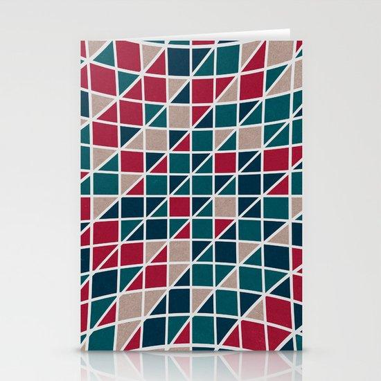 Pattern distortion. Stationery Cards
