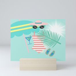 Palm Springs Ready Mini Art Print