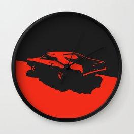 Mercury Marauder, Red on Black Wall Clock