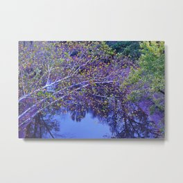 Color over the Water Metal Print
