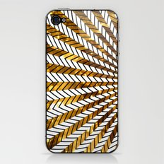 Low Peaks In Gold iPhone & iPod Skin