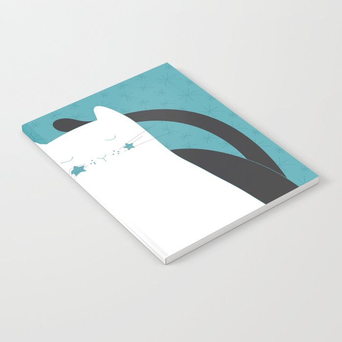 Black White Cats Notebook