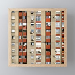 Belgrade | Takovska | color Framed Mini Art Print