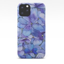 Watercolour Hydrangea iPhone Case